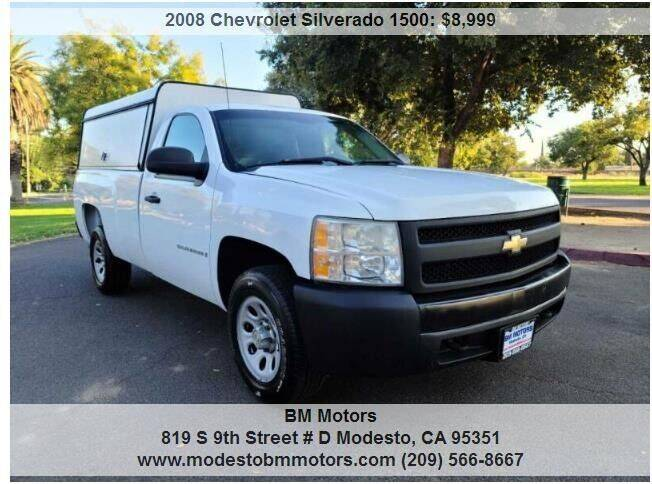 2008 Chevrolet Silverado 1500 for sale at BM Motors in Modesto CA