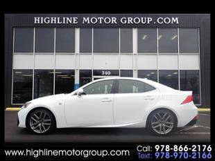 2017 Lexus IS 300 for sale at Highline Group Motorsports in Lowell MA