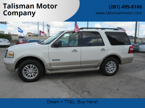 2008 Ford Expedition for sale at Talisman Motor Company in Houston TX