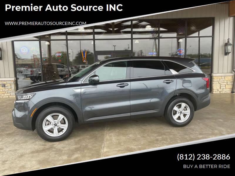 2021 Kia Sorento for sale at Premier Auto Source INC in Terre Haute IN