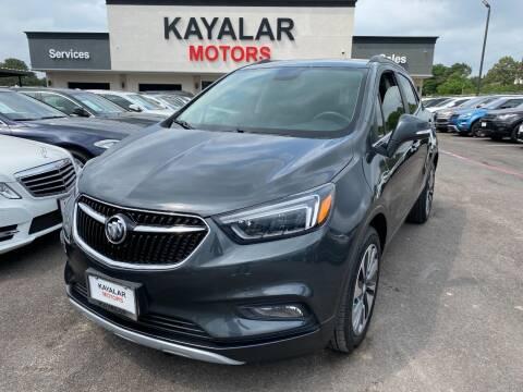 2017 Buick Encore for sale at KAYALAR MOTORS in Houston TX