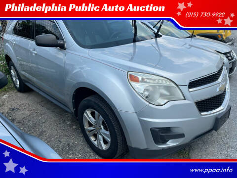 2011 Chevrolet Equinox for sale at Philadelphia Public Auto Auction in Philadelphia PA