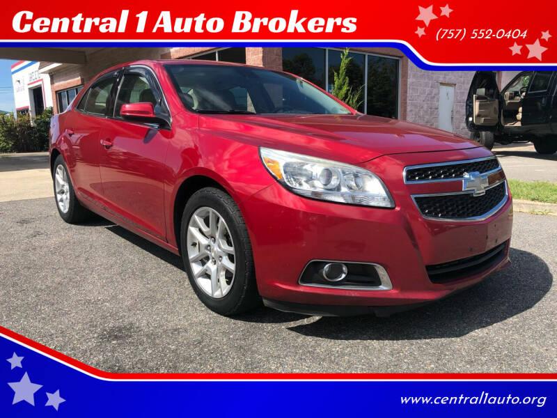 2013 Chevrolet Malibu for sale at Central 1 Auto Brokers in Virginia Beach VA