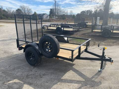 2021 New Triple Crown 5x8 UT w/ FREE MOUNTED SPARE for sale at Tripp Auto & Cycle Sales Inc in Grimesland NC