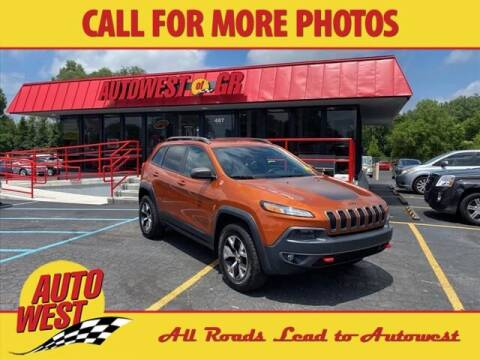 2016 Jeep Cherokee for sale at Autowest of Plainwell in Plainwell MI