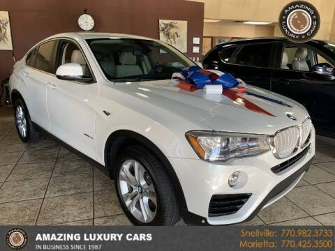 2016 BMW X4 for sale at Amazing Luxury Cars in Snellville GA