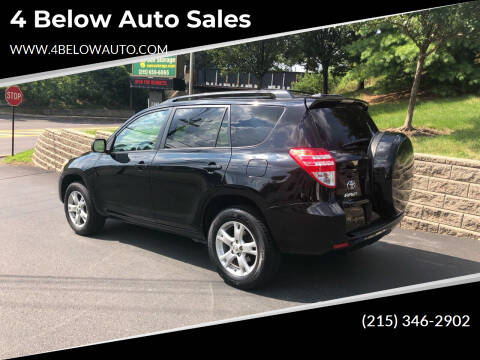 2011 Toyota RAV4 for sale at 4 Below Auto Sales in Willow Grove PA