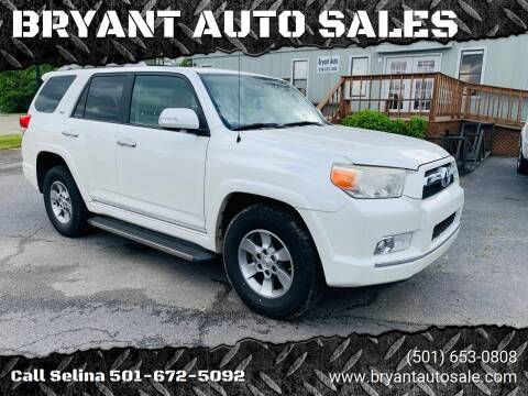 2010 Toyota 4Runner for sale at BRYANT AUTO SALES in Bryant AR
