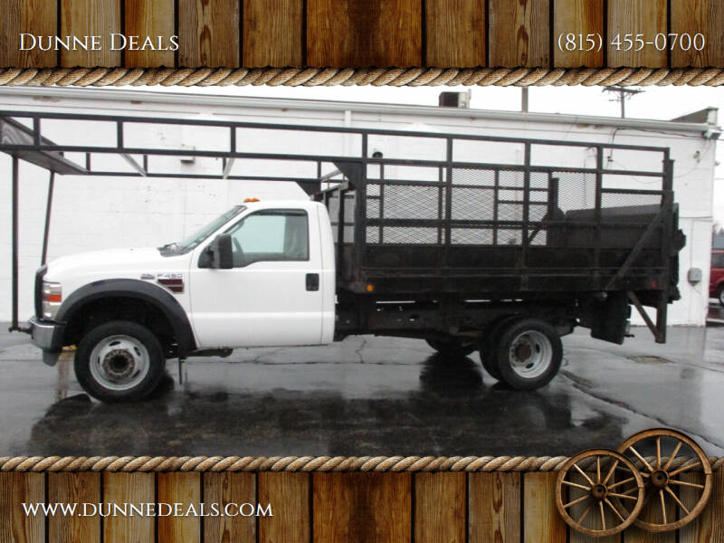 2008 Ford F-450 Super Duty for sale at Dunne Deals in Crystal Lake IL