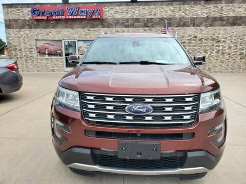 2016 Ford Explorer for sale at Great Ways Auto Finance in Redford MI