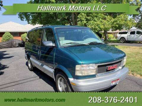 1997 GMC Safari for sale at HALLMARK MOTORS LLC in Boise ID