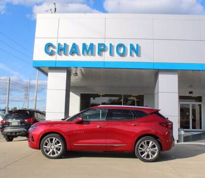 2020 Chevrolet Blazer for sale at Champion Chevrolet in Athens AL