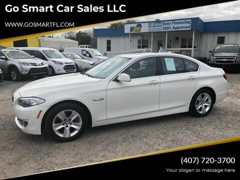 2013 BMW 5 Series for sale at Go Smart Car Sales LLC in Winter Garden FL