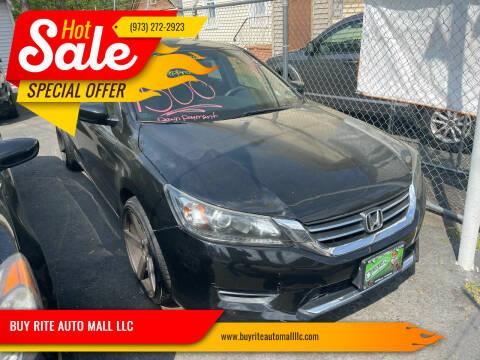 2014 Honda Accord for sale at BUY RITE AUTO MALL LLC in Garfield NJ