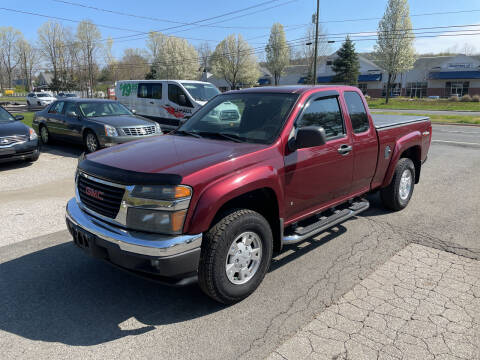 2007 GMC Canyon for sale at Candlewood Valley Motors in New Milford CT