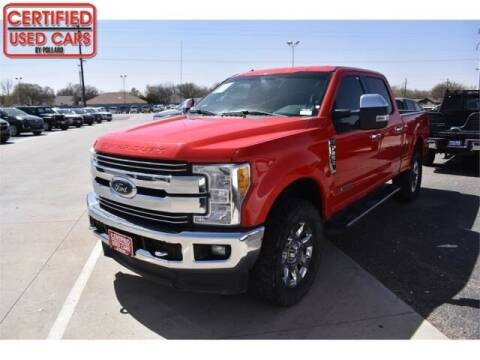 2017 Ford F-250 Super Duty for sale at South Plains Autoplex by RANDY BUCHANAN in Lubbock TX