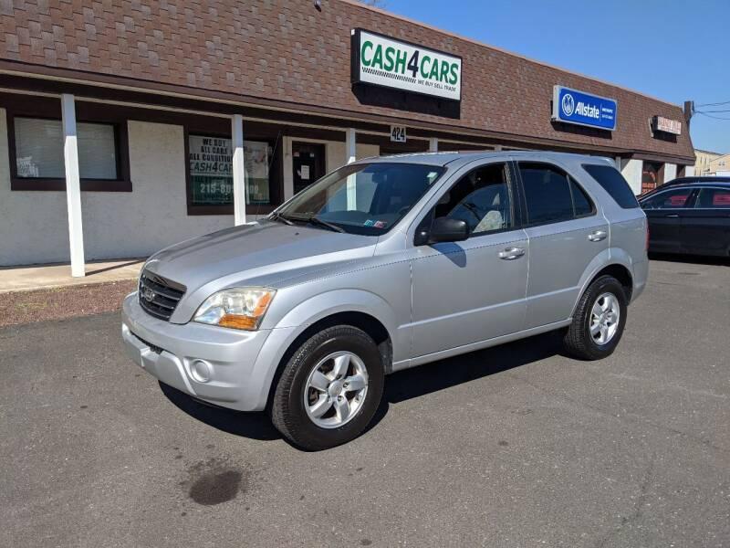2008 Kia Sorento for sale at Cash 4 Cars in Penndel PA