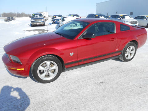 2009 Ford Mustang for sale at Salmon Automotive Inc. in Tracy MN