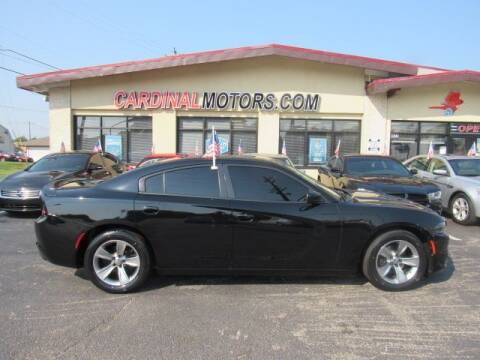 2015 Dodge Charger for sale at Cardinal Motors in Fairfield OH