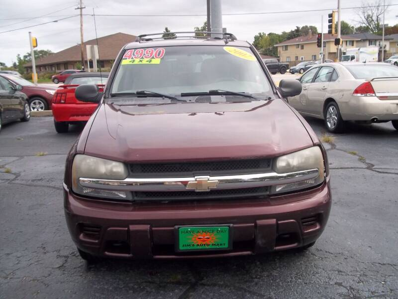 2007 Chevrolet TrailBlazer for sale at JIMS AUTO MART INC in Milwaukee WI