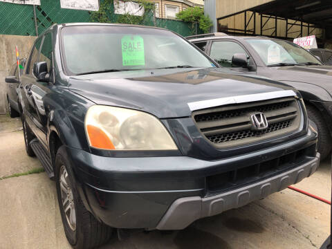 2005 Honda Pilot for sale at Deleon Mich Auto Sales in Yonkers NY