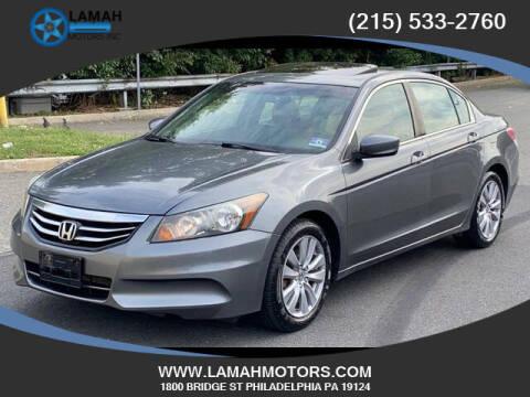 2012 Honda Accord for sale at LAMAH MOTORS INC in Philadelphia PA