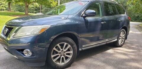 2013 Nissan Pathfinder for sale at Chris Motors in Decatur GA