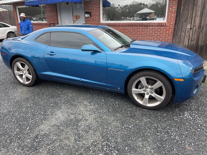 2010 Chevrolet Camaro for sale at LAURINBURG AUTO SALES in Laurinburg NC