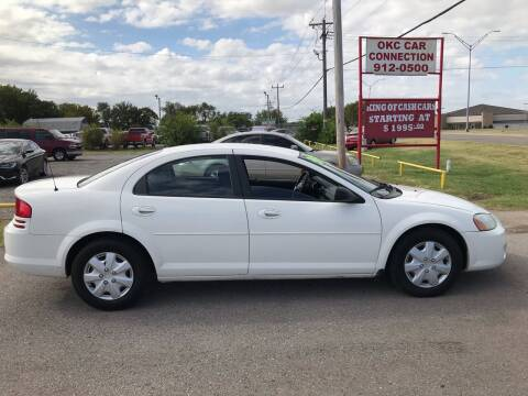 2006 Dodge Stratus for sale at OKC CAR CONNECTION in Oklahoma City OK