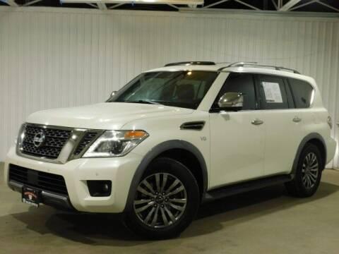 2018 Nissan Armada for sale at Bulldog Motor Company in Borger TX