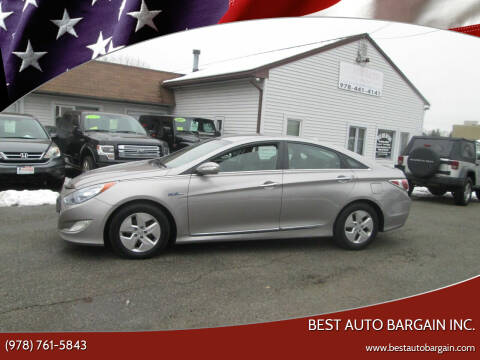 2012 Hyundai Sonata Hybrid for sale at BEST AUTO BARGAIN inc. in Lowell MA