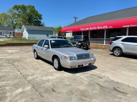 2008 Mercury Grand Marquis for sale at Taylor Auto Sales Inc in Lyman SC