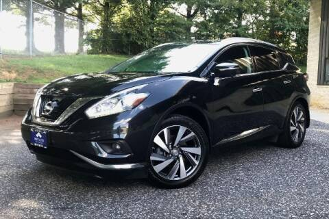 2015 Nissan Murano for sale at TRUST AUTO in Sykesville MD