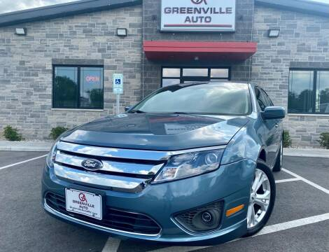 2012 Ford Fusion for sale at GREENVILLE AUTO in Greenville WI