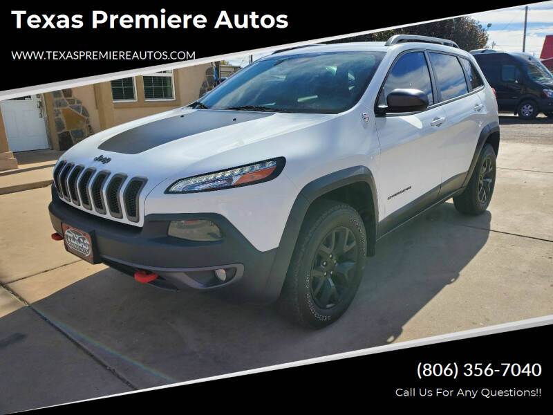 2015 Jeep Cherokee for sale at Texas Premiere Autos in Amarillo TX
