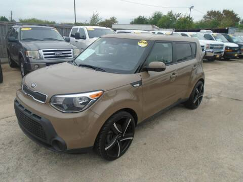 2014 Kia Soul for sale at BAS MOTORS in Houston TX