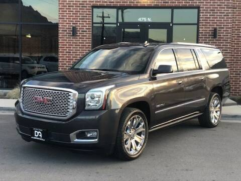 2016 GMC Yukon XL for sale at Dastrup Auto in Lindon UT