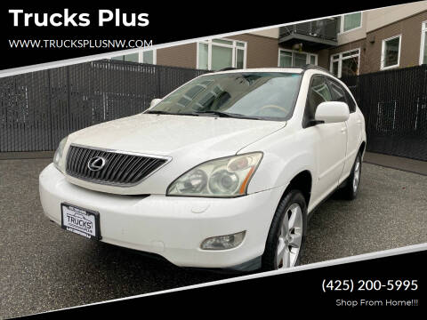 2007 Lexus RX 350 for sale at Trucks Plus in Seattle WA