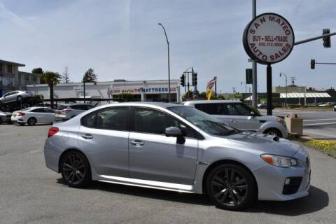 2016 Subaru WRX for sale at San Mateo Auto Sales in San Mateo CA