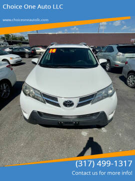 2014 Toyota RAV4 for sale at Choice One Auto LLC in Beech Grove IN