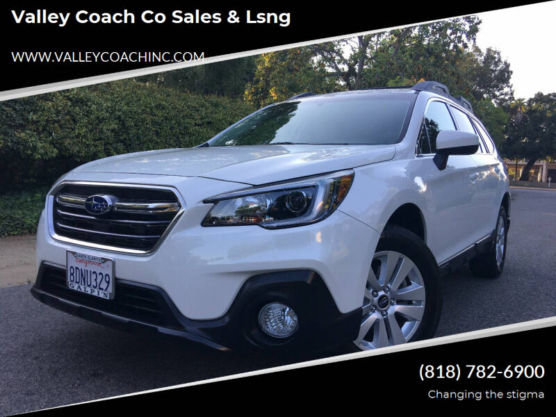 2018 Subaru Outback for sale at Valley Coach Co Sales & Lsng in Van Nuys CA