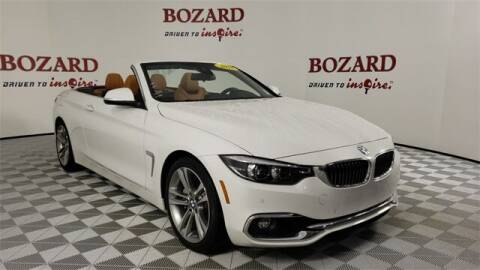 2018 BMW 4 Series for sale at BOZARD FORD in Saint Augustine FL