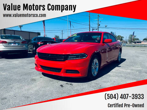 2019 Dodge Charger for sale at Value Motors Company in Marrero LA