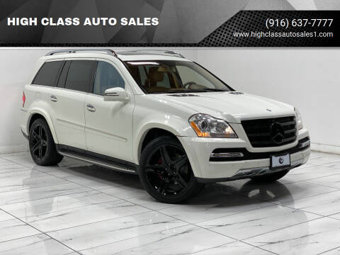2011 Mercedes-Benz GL-Class for sale at HIGH CLASS AUTO SALES in Rancho Cordova CA
