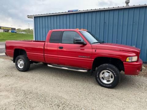 2001 Dodge Ram Pickup 2500 for sale at Kansas Car Finder in Valley Falls KS