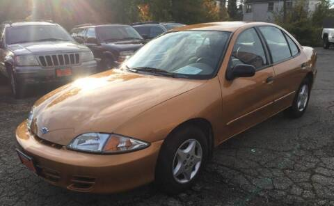 2002 Chevrolet Cavalier for sale at Knowlton Motors, Inc. in Freeport IL
