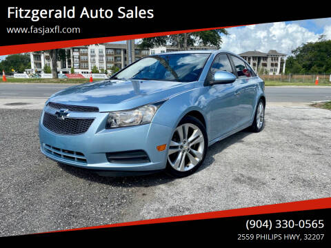 2011 Chevrolet Cruze for sale at Fitzgerald Auto Sales in Jacksonville FL