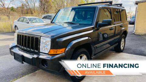 2006 Jeep Commander for sale at BUENDIA AUTO GROUP in Hasbrouck Heights NJ