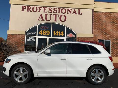 2012 Audi Q5 for sale at Professional Auto Sales & Service in Fort Wayne IN