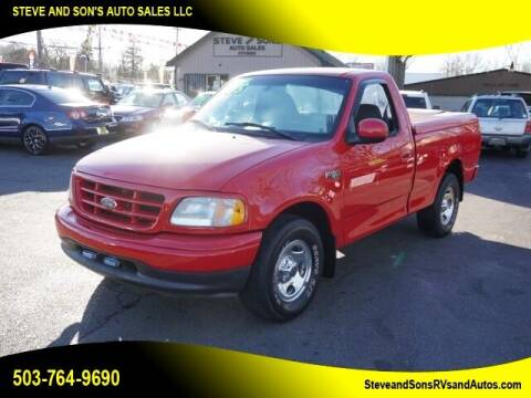 2002 Ford F-150 for sale at Steve & Sons Auto Sales in Happy Valley OR